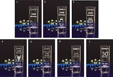 72 Personalised etched 6cl Shot Glasses for Special Day Stag Hen Night Party