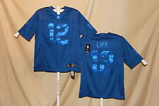 ANDREW LUCK Indianapolis Colts NIKE DRENCHED sewn name JERSEY  Medium  NWT  $135