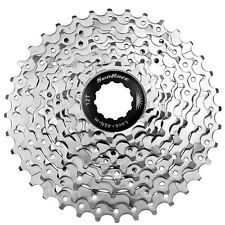 Sunrace M98 9 Speed Cassette 11-36T Mountain Bike MTB 11/36T Bicycle 9s Nickel