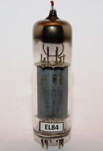 EL84 D-Getter, declined ITT LORENZ Tube Röhre Lampe Valvola. Super Rare