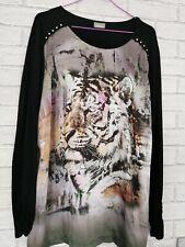 Gelco Tiger Print Long Top S18