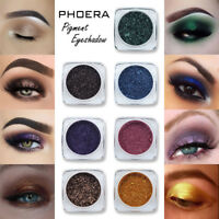 PHOERA Glitter Polvere scintillante Colori Ombretto Metallic Eye Cosmetic