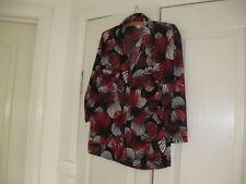 Geometric Regular Size Button Down Shirts for Women