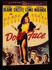 Doll Face DVD Vivian Blaine, Dennis O'Keefe, Perry Como, Carmen Miranda