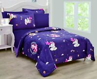 Home 5/7pc Full OR Twin Size Comforter Set Kids Boy & Girls Unicorn Multi Color.