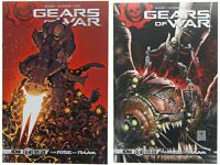 Gears of War The Rise of Raam 1 and 2 Cover B Whilce Variant NM 1st print IDW