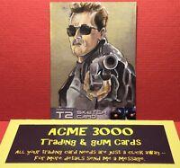 Unstoppable - Terminator 2 T2 - B JONES - Sketch Card - ARNOLD T-800
