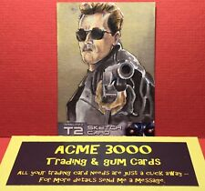 Unstoppable - Terminator 2 T2 - B JONES - Sketch Card - ARNOLD T-800