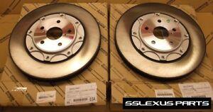 Lexus GS350 GS200T (2013-2018) (RWD)(F Sport) OEM FRONT BRAKE ROTOR SET (x2)
