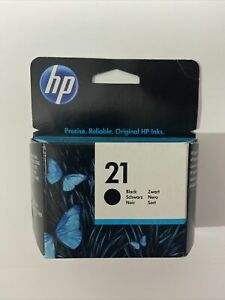 Genuine Original HP 21 Black C9351AE Printer Ink Cartridge VAT.Inc - No Box