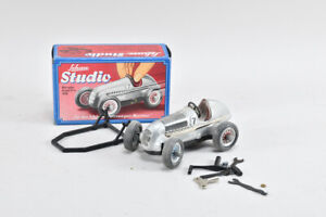 g71b78- Schuco Studio Mercedes Rennauto 1050 mit Box