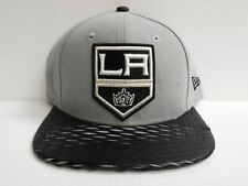 Los Angeles Kings New Era 9Fifty Cap Flat Snapback Leather Rip Hat