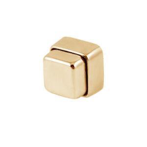 !NEW! FluidMaster Toilet Cistern Flush Button Square Gold Toilet Bathroom !NEW!