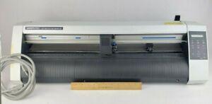 "GRAPHTEC CE5000-60 Plotter Vinyl Cutter Print Cut System 24"""