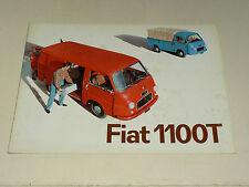 Prospectus Fourgon FIAT 1100 T LKW Camion brochure catalogue truck prospekt
