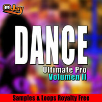 Dance WAV Samples and Loops, bundle, High Quality, sound, track music, all DAWS