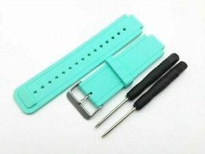 10 Color Silicone Wrist Watch Band  Strap For Garmin Vivoactive Watch With Tools