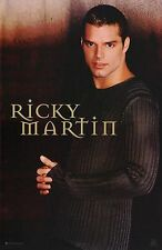 Ricky Martin Poster - Gray Sweater - Vintage NEW - 7545 - FREE SHIPPING