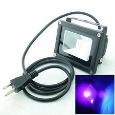 10W UV LED Flood light for Glue Curing Black Halloween Plant Aquarium Fishing US