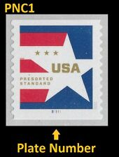 US 5433 Star Presorted Standard 10c PNC1 MNH 2020