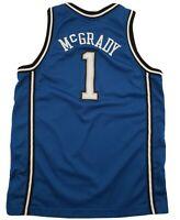 Nike Team Tracy McGrady #1 NBA Embroidered Jersey Orlando Magic Blue SZ Youth Lg
