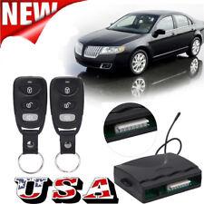 Car Central Power 4 Door Lock / Unlock Remote Kit Keyless Entry Alarm System Us