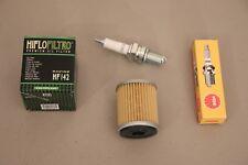 Yamaha YFM350 Big Bear Tune Up Kit Oil Filter NGK Spark Plug Moto-4 YFM 350