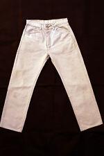 LEVIS 551 standard pour homme Beige Coupe Droite Denim Coton Vintage Jeans W31 L29