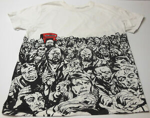 SHAUN OF THE DEAD Limited MONDO All Over Print RARE Zombie Horror SHIRT SIZE L