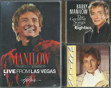 MANILOW MUSIC AND PASSION LIVE FROM LAS VEGAS PLUS TWO CDs EIGHTIES and MANILOW