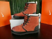 UGG Australia Harkley Waterproof Lace Up Red Oxide Mens Boots 1094395 Size 7