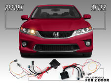 Plug&Play LED DRL Adapter Module For 13-15 Honda Accord 2D 4Cyl to V6 Headlight