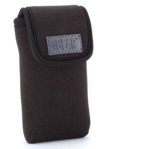USA GEAR FlexARMOR D50 Neoprene Device Case with Carabiner Clip & Belt Loop