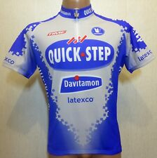 9ba7fb0a5 RARE VINTAGE VERMARC QUICK STEP BIKE BICYCLE CYCLING JERSEY SHIRT MAGLIA  SIZE XL