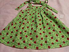 Onicina   infant dress  6-9m lady bugs