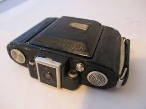 Vintage 1940s Zeiss Ikon Super Ikonta Folding Camera in Leather Case