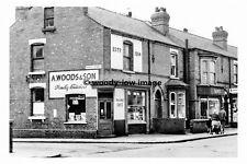 pt8926 - A Woods Shop , North St Corner, Doncaster , Yorkshire - photograph 6x4