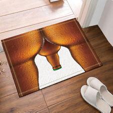 Door Mat Bathroom Rug Bedroom Carpet Bath Mats Rug Non-Slip Creative beer bottle