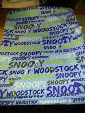 40x22 Toddler daycare cot sheet 1 snoopy  print