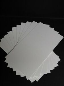 40 x Watercolour Paper/Card Smooth (Textured) 300gsm 120 x 210mm AM532