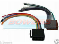 UNIVERSAL CAR RADIO/STEREO BARE WIRE TO MALE ISO CONNECTOR/ADAPTOR BLOCKS PC3-08