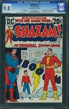 Shazam #1 NM/Mint DC 1973 - SUPER RARE DOUBLE COVER! cm