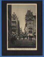 BOLZANO PIAZZA ERBE VERSO VIA MUSEO ANIMATA VIAGGIATA 1934 CAR.0068