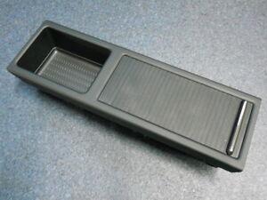 original BMW E46 Ablagefach Rollo NEU Einsatz Mittelkonsole Cabrio Coupe schwarz