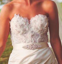 Wedding Gown Dress Crystal Sash Belt