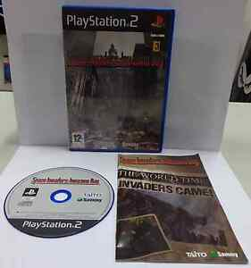 Console Game SONY Playstation 2 PS2 PAL ITALIANO SPACE INVADERS INVASION DAY Ita