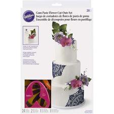 Wilton 28 pièce gumpaste flower cutter set gâteau décoration fondant fleurs