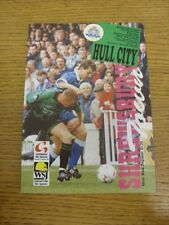 22/10/1994 Shrewsbury Town v Hull City  . Bobfrankandelvis the sellers of the it