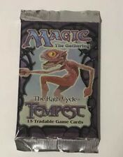 Magic Tempest Booster Pack Factory Sealed Fresh From Box English