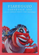 """7301) Viareggio Carnevale 1958 """" Dentifricio SQUIBB """""""